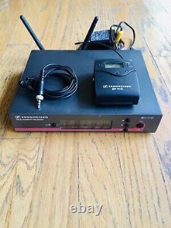 Sennheiser EW 100 G3 Lavalier / Lapel Wireless Microphone system GOOD condition