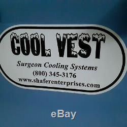 Shafer Enterprises Cool Vest Surgeon Cooling System With Vest Good Condition