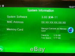 Sony PS Vita CFW 3.60 Henkaku Enso OLED 128gb sd2vita Very Good Condition
