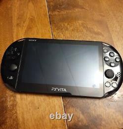 Sony PS Vita Slim PCH-2001 Good Condition Black