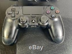 Sony PlayStation 4 500GB Black Console GOOD CONDITION GRADE B/C