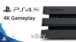 Sony PlayStation 4 Pro Jet Black 1000 MB Console USED but good condition