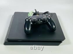 Sony PlayStation 4 Slim 500GB Black Home Gaming Console Good Condition