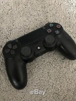 Sony PlayStation 4 Slim 500GB Console Matte Black 3 Games Very Good Condition
