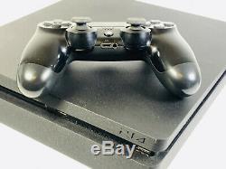 Sony PlayStation 4 Slim 500GB Console Matte Black GOOD CONDITION
