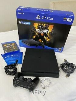 Sony Playstation Ps4 System 1tb Bundle (cuh-2215b) Used Good Condition