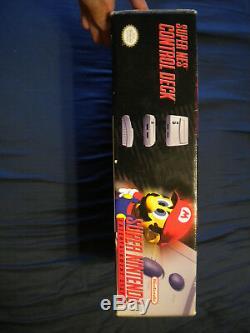 Super Nintendo Control Deck Mini System In very Good Condition CIB