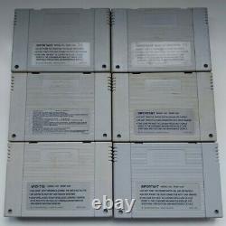 Super Nintendo Entertainment System Console Bundle Good Condition SNES PAL