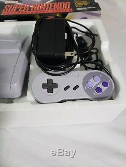 Super Nintendo Mini Model 2 Junior Complete In Box Good Condition Cib