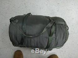US Military 5 Piece Modular Sleeping Bag Sleep System Good Condition
