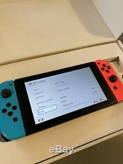 Unpatched Nintendo Switch Neon Very Good Condition Boxed Xaj40002639365