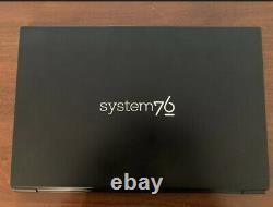Very Good Condition, Upgraded System76 Lemur Pro (lemp9) 24 GB RAM, 500 GB NVMe