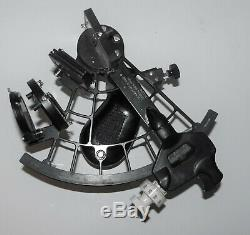 Vintage U. S. Naval Ships Systems Command Sextant. MK-3 Mod. V. Good condition