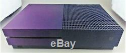 Xbox One S 1TB Fortnite Battle Royale Edition Console Purple Good Shape
