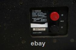 Yamaha NS-10M NS10M Speaker System Studio Monitors Speakers Pear Good Condition