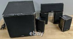 Yamaha RX-V383 5.1 Surround Sound Home Theater System Good Shape
