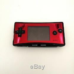 5 Couleurs Gbm Nintendo Game Boy Micro Console Testés Bonne Condition -utilisé