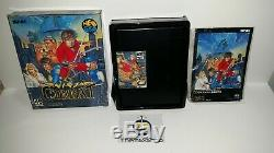 62-15 Snk Neo Geo Neogeo Aes Ninja Combat Carton Très Bon État