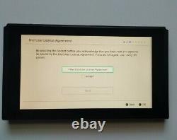 Animal Crossing V2 Nintendo Switch Console Tablet Seulement! (bon État 8.5/10)