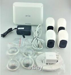 Arlo Pro 2 Sécurité Intérieure / Extérieure Système De Caméra 4 Pack Bonne Forme