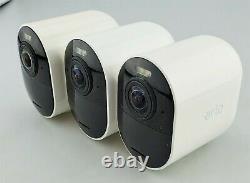 Arlo Ultra 4k Uhd 3 Appareil Photo Intérieur/extérieur Système De Sécurité Blanc Bonne Forme
