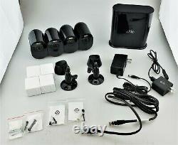 Arlo Ultra 4k Uhd 4 Caméra Intérieur /extérieur Fil Système De Sécurité Gratuit Bonne Forme