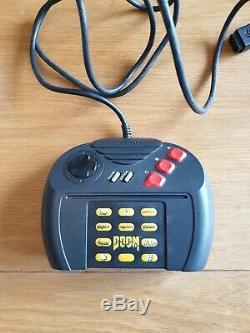 Atari Jaguar Noir Console, Pal, Très Bon État, Y Compris Cybermorph