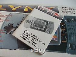 Atari Lynx 2 Console En Boîte Avec Inserts (testé Et Travail) Bon État