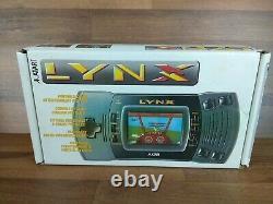 Atari Lynx Boxed Console Bonne Condition Cosmétique Lire Desc