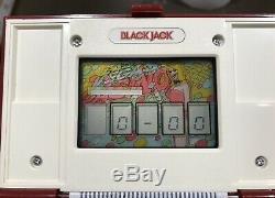 Black Jack (bj-60) Nintendo Game & Watch Multiscreen Bon Etat