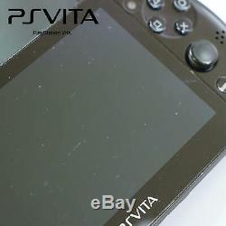 Black Sony Playstation Vita Console De Jeu Slim Wifi, Bon État + Garantie