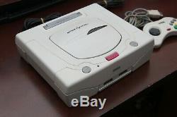Blanc De La Console Sega Saturn Très Bon État Système Ss Japon Us Vendeur