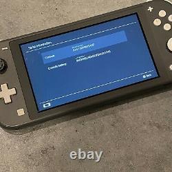 Bon État Nintendo Switch Lite Gray #h153