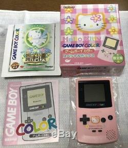 Bonjour Kitty Gbc Gameboy Colorspecial Box Bon Etat En Boite