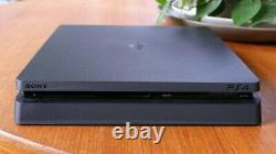 Bonne Condition Sony Playstation 4 Slim 1tb Noir Console