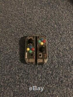 Bonne Condition Transparent Commutateur Nintendo Avec Zelda Mario Et Protecter Écran