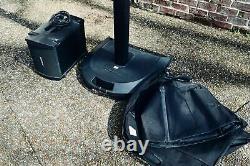 Bose L1 Pa Système De Haut-parleurs De Tour En Bon État Avec B1 Sous, Sacs