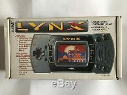 Boxed Avec Inserts Et Tested Travail Atari Lynx 2 Console / Bon État