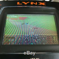 Boxed Avec Inserts Et Tested Travail Atari Lynx 2 Console / Bonne Condition / # 2