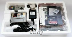 Boxed Super Nintendo Snes, Mario Allstars, Bon État