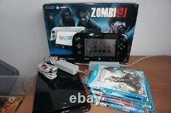 Boxed Wii U = Zombi U Pack Premium Avec Jeux Supplémentaires En Très Bon État