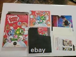 Bubble Bobble (nintendo Entertainment System, 1988) Cib Très Bon État