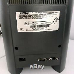 Complet Bose Cinemate Série I 2.1 Système Avec Télécommande, Testé, Bon État