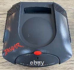 Console Atari Jaguar Seulement- Testée Et De Travail- Pas De Cordons/contrôleur- Bonne Forme