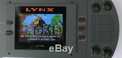Console Atari Lynx I 1 Ecran LCD Mod (mcwill) Sortie Vga Tres Bon Etat