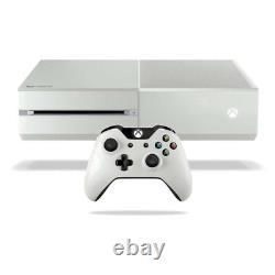 Console Blanche De 500 Go De Microsoft Xbox One Très Bon État