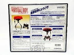 Console De Jeu À Affichage 3d Nintendo Virtual Boy, Japon, Très Bon État