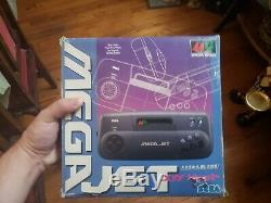 Console Mega Jet Sega Japan (complet, Tres Bon Etat) Tres Rare
