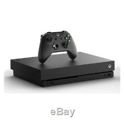 Console Microsoft Xbox One X 1 To, Noir, Très Bon État
