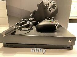 Console Microsoft Xbox One X 1tb Très Bon État! Livraison Gratuite